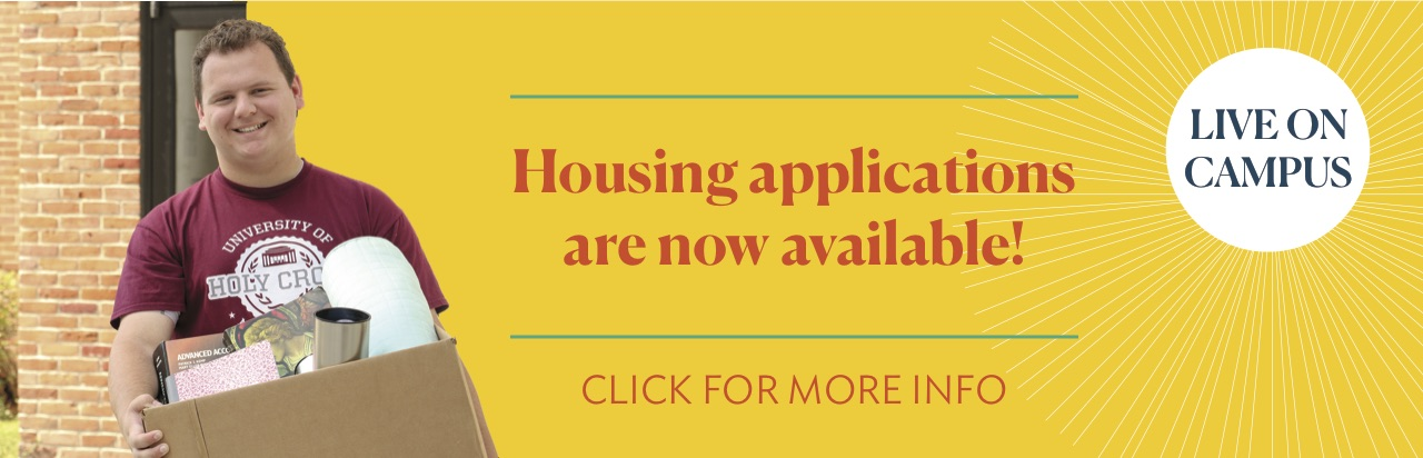 Housing Applications are now available!